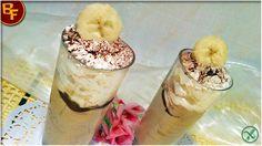 Frappè banana e cioccolato