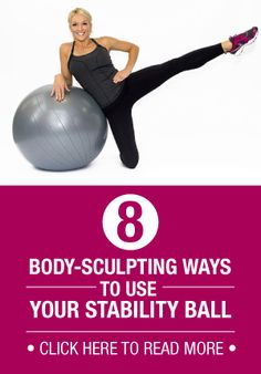 Stability Balls are excellent for developing balance and targeting specific muscle groups. Try these exercises to pump up your routine!
