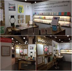 The Holstee booth at #NYNOW2014!
