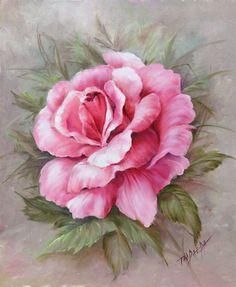 Watercolor Flowers, Watercolor Paintings, Rose Art, Flower Wallpaper, Fabric Painting, Vintage Flowers, Flower Art, Canvas Art, Drawings