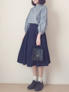 -- Tops ⁂ peu près Skirt ⁂ RETRO GIRL Bag ⁂ L