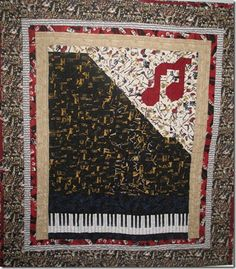 Piano Man Quilt