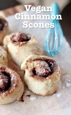 How to make 100% Vegan Cinnamon Scones! :) Very tasty, satisfies the sweet tooth! :)