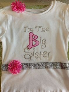 Big Sister and/or Little Sister Outfits by JJEmbroideryDesigns