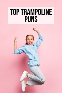 Looking for some trampoline puns, jokes about jumping or fun instagram captions! Look no further! Trampoline Jokes | Puns about Trampolines #trampoline Spring Free Trampoline, Toddler Trampoline, Trampoline Games, Trampoline Workout, Trampoline Park, Jump Park, Trampolines For Sale, Caption For Yourself
