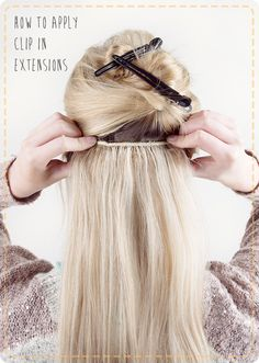 Bonus: How to Apply Extensions Yourself | 31 Gorgeous Wedding Hairstyles You Can Actually Do Yourself