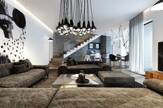 Beutiful and luxury interior design for your apartment