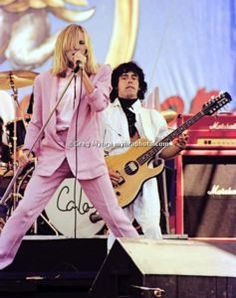 Cheap Trick's Robin Zander & Tom Peterson, Day On The Green, 1980. My second concert ever! Molly Hatchet, Black Sabbath (w/ Ronnie James Dio) and headliners Journey were also on the bill.