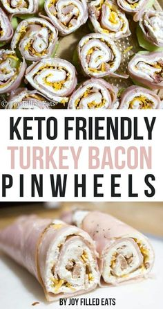 30 Amazing Keto Snacks For Weight Loss: Keto Turkey Bacon Ranch Pinwheels by Joy Filled Eats. These delicious & healthy keto snacks help you maintain ketosis and won't break your ketogenic diet. If you're looking for quick and easy keto diet snacks to hav Ketogenic Diet Meal Plan, Diet Meal Plans, Keto Snacks On The Go Ketogenic Diet, Hcg Diet, Diet Snacks, Healthy Snacks, Diet Foods, Easy Snacks, Healthy Picnic