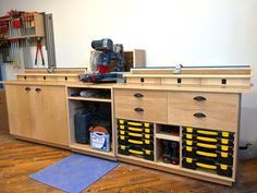 Miter Saw Station & Storage