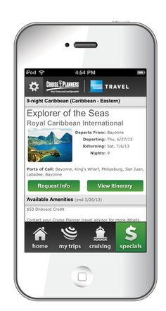 Check out my new  Cruise Planners Mobile App --Be sure to select me Annette Wick @Pumunta as your agent