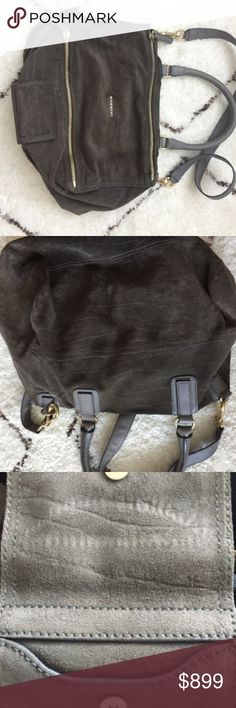 Authentic Givenchy Large Grey Suede Pandora Additional pics Givenchy Bags Satchels