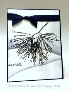 Stampin up stampin' up! stamping stampinup mary fish ornamental pine