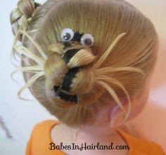 Halloween Spider Hairstyle (22)