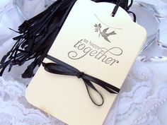 Wedding Wish Tags So Happy Together Gift Tags