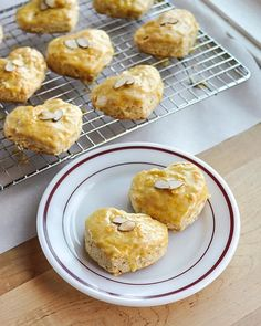 Valentine's Day Recipe: Almond Scones with Grand Marnier Glaze — Guest Post from…