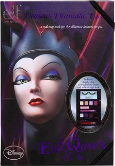 Disney Villainous Villains Makeup Books