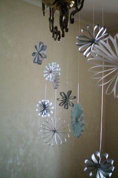 Paper Ornaments | Thanks Frog Riding Bike and How About Oran… | Flickr