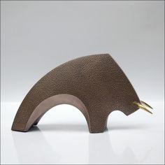 """"""" Toro """" - bronze martelé"""