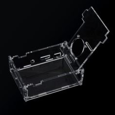 Clear Case Cover Transparent Shell Box for Raspberry Pi 2 Model B+ Support Fan Installation