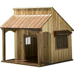Advantek Saloon Dog House