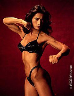 Former female bodybuilder, powerlifter, actress, fitness trainer, stunt woman, martial artist and fight choreographer Michiko Nishiwaki