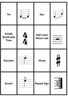 Music Memory Game! Music Signs and Symbols! Fun and Educational!   ♫  CLICK through to preview or save for later!  ♫