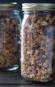Maple, Honey Nuts & Fruit Granola recipe