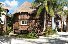 AMANSALA : ECO CHIC RESORT TULUM, MEXICO - yoga retreats, weddings, bikini bootcamp