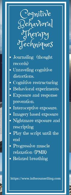 The main Cognitive Behavioral Therapy Techniques are presented. Do you need a list of CBT techniques? Cognitive distortions are fixed using CBT techniques. Cbt Therapy, Therapy Tools, Therapy Quotes, Play Therapy, Speech Therapy, Counseling Activities, Art Therapy Activities, Group Activities, School Counseling