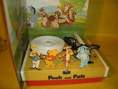 Winnie The Pooh and Pals Record Player SEARS by RustyPickers