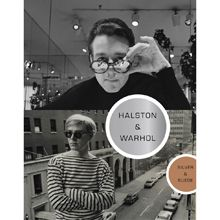 Halston & Warhol: Silver & Suede.  Their lives and work are presented side by side in over 300 images with interviews and essays that explore their friendship and their art.  Hardcover, 240 pages, 310 illustrations