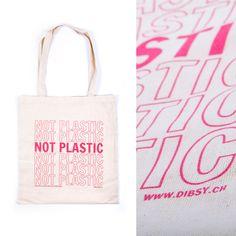 Promo Produkt design NOT PLASTIC Einkaufstasche für www.dibsy.ch Star Wars, Product Design, Reusable Tote Bags, Shopping, Bags, Starwars, Star Wars Art