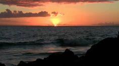 Maui Sunset - Poolenalena Beach Park Makena Maui Hawaii - Wedding Beach ...