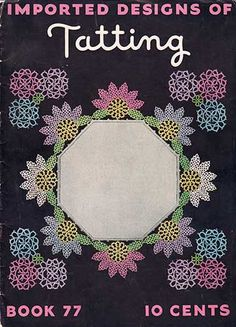 Download Imported Designs Imported Designs of Tatting from 1936