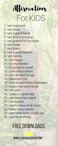 Teaching our children to use affirmations at a young age can help foster positive self-image, self worth and confidence. Here are 25 awesome affirmations for kids. Parenting Advice, Kids And Parenting, Gentle Parenting, Natural Parenting, Parenting Classes, Peaceful Parenting, Foster Parenting, Parenting Quotes, Education Positive
