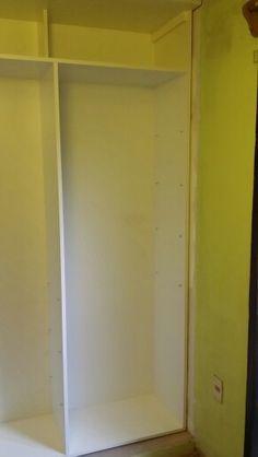 Placard / Dormitorio / Melaminico Nogal Habano + Puerta espejo