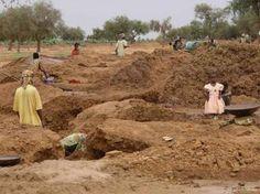 A gold mine in Mali.
