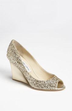 Jimmy Choo 'Baxen' Wedge Pump ... maybe if there's extra money in the clothing budget :)