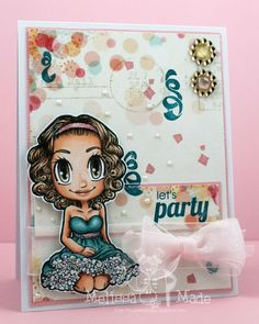 some odd girl holiday gwen | Let's Party! using Party Girl Gwen by Melissa Andrew