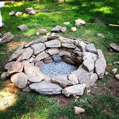 Fire Pit - all ready for the cool temps.