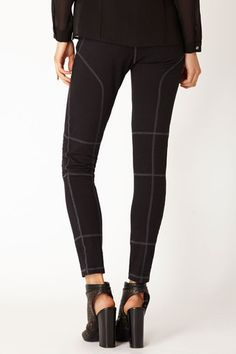 MOTORCYCLE LEGGINGS by @ Ananda Pascual  PHILANTHROPIC I FAIR TRADE