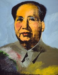 [Now on view in Gallery 297A] Andy Warhol. Mao, 1973. Mr. and Mrs. Frank G. Logan Purchase Prize and Wilson L. Mead funds. © 2014 The Andy Warhol Foundation for the Visual Arts, Inc. / Artists Rights Society (ARS), New York.