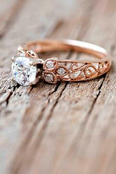 "24 Engagement Rings That Will Make You Say, ""I Do!"" - Reverie"