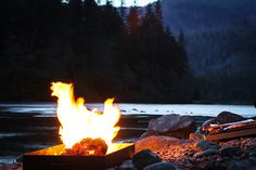dgridley:  Nothing like a fire, river, and fading light.