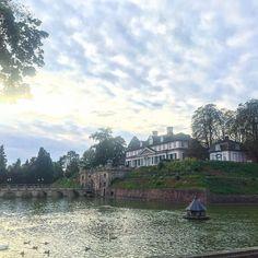 Несколько раз здесь был зимой  и ни разу не видел этого замка   #этожизнь #осень #новаяжизнь #путешествие #сентябрь #2016 #travel #september #traveling #reisen #followme #photoart #badpyrmont #германия #germany #deutshland