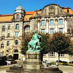 Otto von Guericke in #Magdeburg