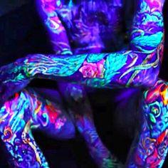 74 Best UV Tattoo images in 2013 | Dark tattoo, Uv tattoo
