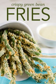 "These ""fries"" are crispy and can satisfy your fast food cravings without the guilt!"