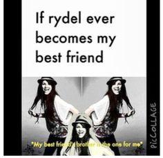 ABSOLUTELY. AHAHAHAHAHA LOVE THIS. Rydel Lynch's brother..... Ross lol